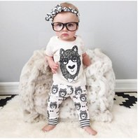 Wholesale Clothing For School - Ins Hot Boy Tracksuit Girl Clothes Set Back to School Outfit Baby Clothing Casual BodySuit For Fall