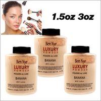 luxe oil Canada - LUXURY Ben Nye Banana Powder 1.5oz 3 oz Face Pouder de LUXE Banana Loose powder Face Powder 1.5oz 3oz