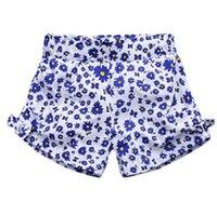 Wholesale Sunflower Pants - BST15 NEW ARRIVAL Little Maven 2017 100%Cotton Cartoon sunflowers Girls Kids Pants girls causal summer Shorts free ship