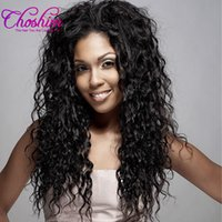 Wholesale wholesale clip ins - Choshim Water Wave Brazilian Virgin Hair Clip in Human Hair Extensions Natural Color Hair Clip-Ins 8Pcs Set Free Shipping