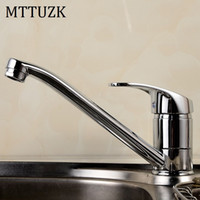 Wholesale Pool Polishes - Wholesale- Sales promotion!Kitchen sink vegetables basin laundry pool hot and cold water faucet single hole single handle taps Rotate 360