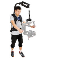 Wholesale Steadicam Dslr Stabilizer - Free Shipping for V8 Waterproof Stabilizer Vest 5.5-13.2lb 2.5-6kg Loading Capacity with Professional Climbing Carabiner for DSLR DJI Ronin