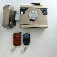 Wholesale Door Keyless Entry - Security Padlock Keyless Entry Smart Door Lock Automatically Intellisense Household Warded Lock with 4 Remotes