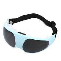 Wholesale eye mask massager - 1pc Hot Eye Care Health Electric Eye Massager Healthy Mask Migraine DC Alleviate Fatigue Forehead Eye Care Massager Health Care