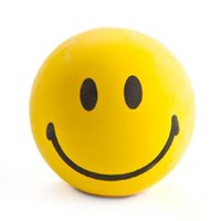 Wholesale Cheap Heat Transfers Wholesale - 2017 New Custom Cheap Bulk Heat Thermal Transfer PU Funny Promotion Gift Smiley Face Stress Ball