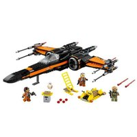 Wholesale First Order Poe s X wing Fighter Star Wars Building Blocks Toys For Children STARWARS Brick Toys X wing Xwing