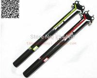 Wholesale Carbon Fiber Bike Tubes - K force carbon fiber road bike seat tube seatpost 27.2 30.8 31.6+Freeshipping