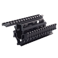Wholesale Handguard Quad - Model AK 47 Universal Tactical Quad Rail System Drop-in Handguard Picatinny Rails Forend SIS MNT-HG478SA