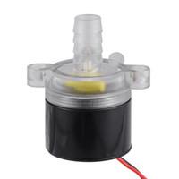 motor de bomba de óleo venda por atacado-Mini bomba de óleo sem escova ultra-quieta HS836 impermeável da água do motor de DC12V micro