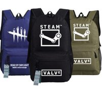 presentes de vapor venda por atacado-Atacado-Dead by Daylight Steam Game Backpack School Ombro PC Bag Gift Xmas