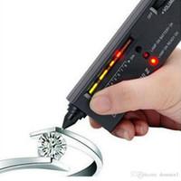 драгоценные камни оптовых-Алмазный тестер II селектор V2 портативный Алмаз драгоценный камень ювелирные изделия Gems инструмент с футляром