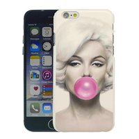 Bunte gemalte Marilyn Monroe Handy Tasche für iPhone 6 (4.7 ''), iPhone6 ​​plus (5.5
