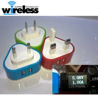 USB Travel Wall Chargeur Adaptateur UK 3 broches Plug Pour iphone 6 6s plus 4S 5 5S Samsung S7 S6 bord Note 5