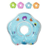 Wholesale Toy Babe - Summer Baby Kids Swimming Ring Pool Inflatable Toys Water toys Inflatable Ring Little Babe Kids Adjustable Swimming neck ring