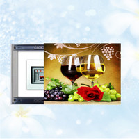 Wholesale Wholesale Frameless Paintings - Decorative paintings Push and pull Frameless painting Shelter electric box living room Bedroom Decorative crystal glass painting