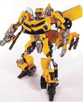 Wholesale Human Alliance - bumblebee and sam Transformation Robot Human Alliance Bumblebee and Sam Action Figures Toys for classic toys anime figure cartoon boy toy