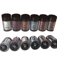 Mini NYX Glitter Primer Cream Concealer Cream NYX Glitter Face and Body Shimmer Powder 6 цветов Eyeshadow Powder IN STOCK 24 комплекта