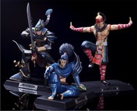 lol vi figure achat en gros de-Le set de jeu Kensai arthorn League of Legends Toy LOL Vi- l'échelle Enforcer figurative figurée Figure Kits de garage Anime A17042939
