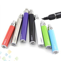 Wholesale Charging Electronic Cigarette - New Ugo T EGO Passthrough Battery 1100 900 650 mAH Electronic Cigarettes Android Battery for 510 Atomizer can be charged by Android Cable