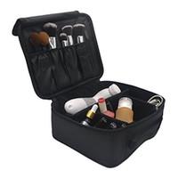 Wholesale Making Cartoons - Portable Cartoon Cat Coin Storage Makeup Cosmetic Make Up Organizer kitty Bag Box Case Women Men Casual Travel Bag Handbag