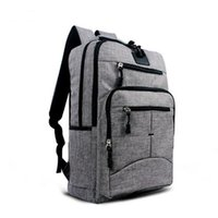 Paquets de sport sport bleu France-Black Blue Grey Fashion College School Business Sac à dos pour ordinateur portable Dual Shoulder Outdoor Sport Travel Casual Pack Bag