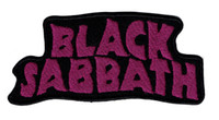 Wholesale fashion house clothes - Green House Fashion BLACK SABBATH Black Label Society Iron On  Sew On Patch Applique DIY Clothing Emblem Free Shipping