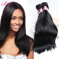 Wholesale Dhgate One - BD Silky Straight Human Hair Extension Brazilian Virgin Hair 3 4 Bundles One Set Human Hair Dhgate Link
