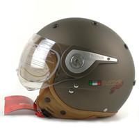 Wholesale Black Vespa Helmet - BEON vintage off road motocross men feminino motorcycle helmet vespa casco capacete open face capacetes motociclistas B-110A