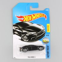 Wholesale Cheap Toy Model Cars - kids hotwheels metal diecast Factory Fresh race track mini car models toys collectible hot wheels cheap gifts for children C7