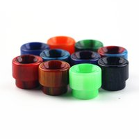 Wholesale Ecig Mouth Pieces - Free Shipping Top Selling Resin Drip Tips Ecig Mouth Piece Fit For AV RDA Mad Dog Goon 528 RDA Atomizer