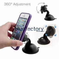 windschutzscheibe für handy großhandel-Universalmagnet-magnetische Armaturenbrett-Berg-Telefon-Halter-Windschutzscheiben-Saugnapf-Berg-Standplatz-Halter für iphone Samsung LG Handy GPS