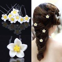 Wholesale Disc Headdress - Disc type U Hair Flower Clip bride beautiful headdress flower FS00113