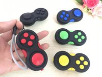 Multicolor sports games kids - Amazing Fidget Cube Magic Gamer Fidget Pad Game Controller Colorful Fidget Toys Anti anxiety Decompression Toys with Box