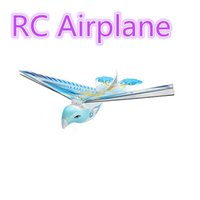 Wholesale Toy Helicopters Wireless - Newest remote control RC flying bird pigeon butterfly e-bird toy hobbies Wireless Induction bird Helicopter children kid gift toy 4 colors