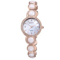 Relógios Weiqin 2017 New Brand Women Watch Rose Gold Fashion Casual Luxo impermeável Feminino Women's Dress Relogio Quartz Relógios de pulso