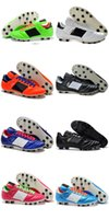 Wholesale First Cups - Mens Copa Mundial Leather FG Discount Cleats 2015 World Cup Boots Size 39-45 Black White Orange botines futbol Boy First Walkers shoes