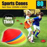 NOUVEAUX DISQUES 80 DISQUES TRAINING CONES FOOTBALL SOCCER RUGBY AFL TOUCH GROUP FITNESS