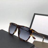 Wholesale Legging Popular - G1062 Fashion Men Brand Designer Sunglasses Wrap Popular Square Frame UV Protection Lens Carbon Fiber Legs Summer Style Top Quality Case