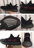 Wholesale Cutting Letter - Heel Table CP9652 Pirate Black Core Black Red Letter SPLY 350 boost V2 2017 Newest Black Kanye West Boost 350 Running Shoes Orange