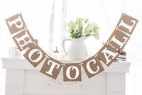 Vente en gros - Expédition gratuite 1 X Photocall Banner Spanish Wedding Sign Garland Photo Props Party Deco Supply