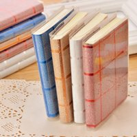 Wholesale Mini Pad Pen - Mini Notebook Creative Tower Hardcover Combine Memo Pad Notepad Stationery Diary Notebook Office School Supplies With Pen