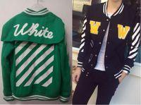 Wholesale White Collar Suit Designer - designer hoodies for men women sweatshirt palace sweats Harajuku streetwear hoodie track suit mens hip hop hoodies off white baseball jacket