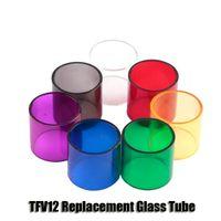 Wholesale King Baby Wholesale - Vapesoon SMOK Tank Replacement Pyrex Glass Tube For TFV8 Big Baby TFV12 Beast King 6ml Tanks