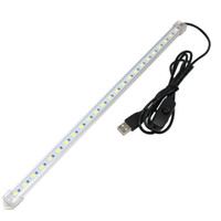 Wholesale tablet specials for sale - Edison2011 Retail USB SMD5630 Led Hard Strip Light Tube With Switch For Charger PC Tablets And Milky Cover And Transparent Cover