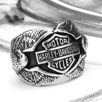 Wholesale 316 STAINLESS STEEL MOTOCYLE BIKER RING FOR