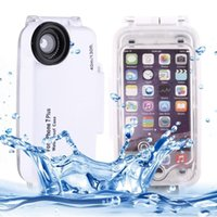 Wholesale Underwater Video Housing - Waterproof and Snowproof Phone Cover Case for Diving Housing Photo Video Taking Underwater Water Resistant 40M for Iphone 6 6s 7 Plus