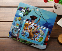 Wholesale Wholesale Toy Story Watch - Wholesale lot Toy Story kids Sets watch and wallet purse wrist quartz Christmas Children gift Boys Girls Cartoon watches