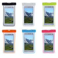 "Wholesale Apple Iphone Size - Noctilucent Waterproof Phone Bag For iPhone 6,7,7 Plus, For Samsung S8,S8 Plus, Fit all sizes under 5.8"" Diagonally"