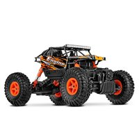 Wholesale Electric Rc Cars Road - WLToys 18428 2.4G 4WD RC 1:18 Buggy Crawler Car High Speed Off-Road Buggy Car Remote Radio Control Crawler Vehicles Model Toy