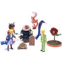 Wholesale Pvc Little Prince - Little prince action figure dolls cartoon ornaments the 8-11 cm le Petit Prince model doll collection Christmas Gift